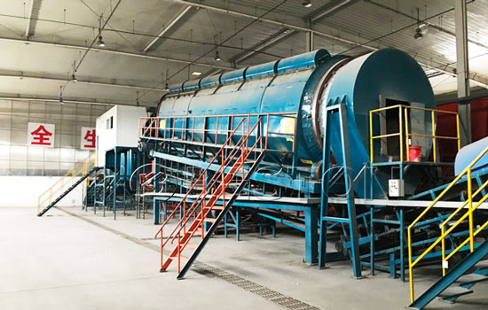 Beston Automatic Waste Segregation Plant